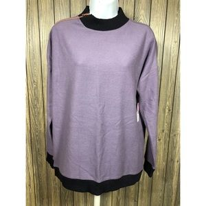 NWT size Medium Xersion sweater with zipper